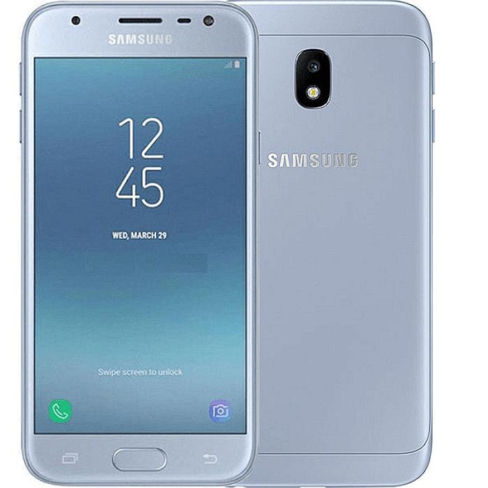 Задня кришка для телефону Samsung J330F Galaxy J3 (2017), блакитна