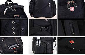 Рюкзак Swissgear  35 л, + USB + дождевик, фото 3