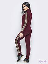 Модный  вязаный спортивный костюм,свитер под горло,размер единый 42-46, фото 2