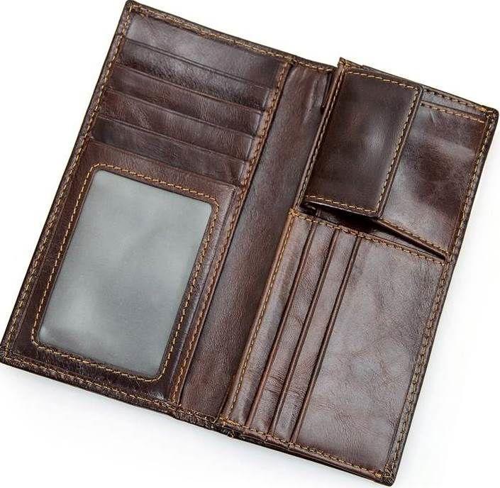 fbeb519c25a5 ... Кошелек Vintage 14536 из натуральной кожи Коричневый, Коричневый, ...