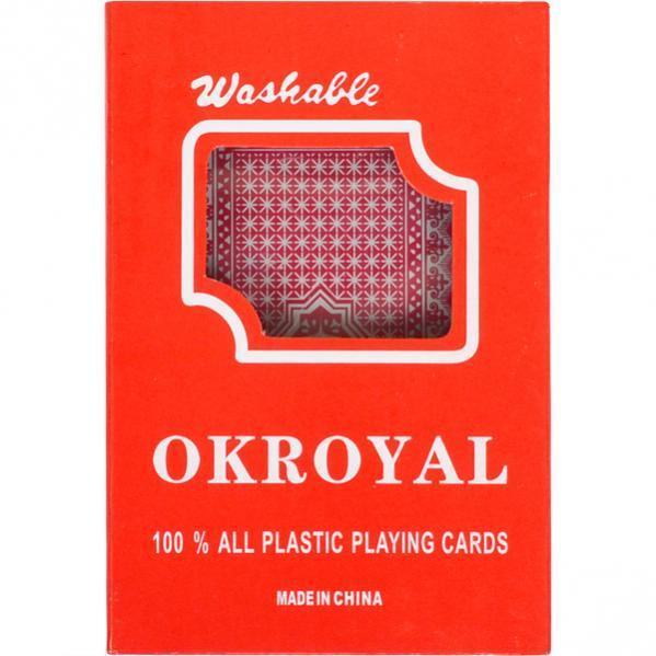 Карты игральные, пластиковые «OKROYAL 1 колода