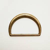 Полукольцо для сумок 30мм метал медь (100шт)