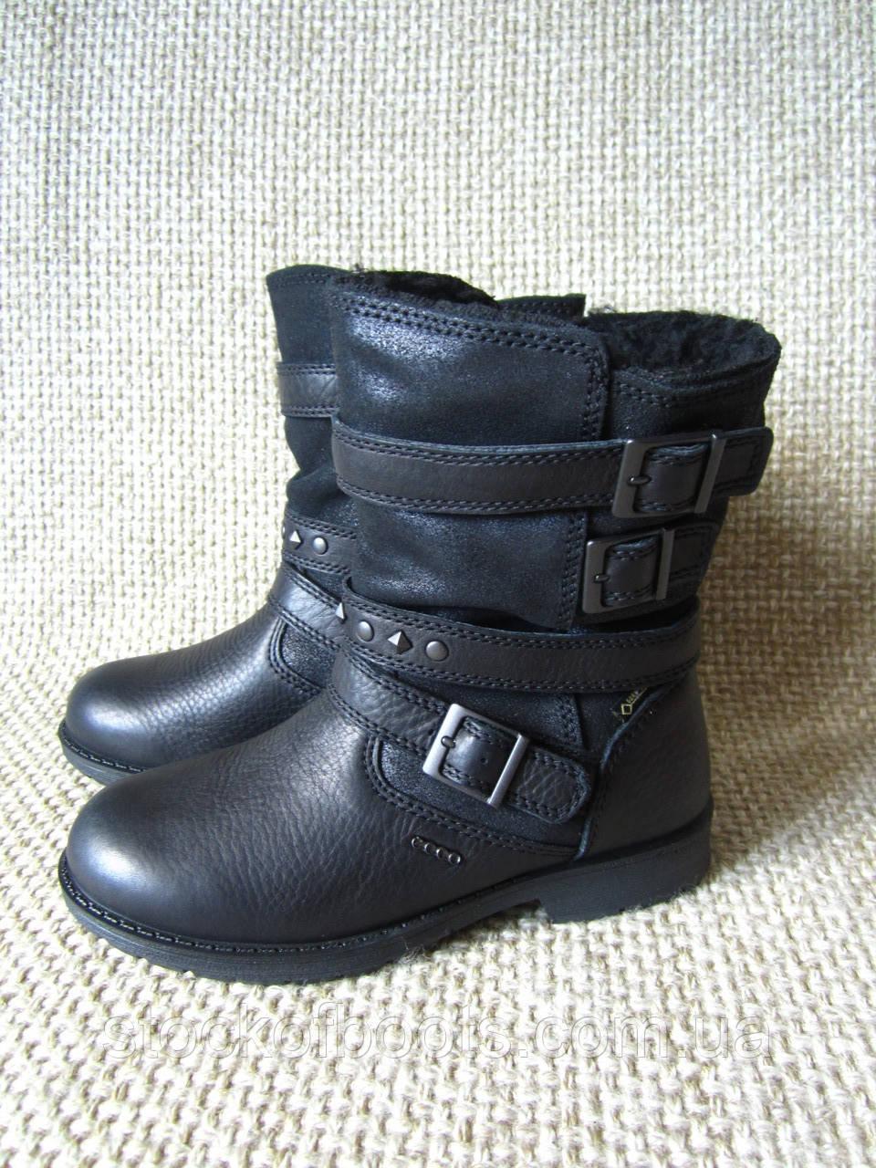 Чобітки зимові шкіряні нові оригінал Ecco Bendix Junior 735143 ... 4f1f9ea358998