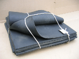 Пористая/губчатая резина толщина 20,0 мм 670х670 мм ТУ 38 005 272-76 (Россия)