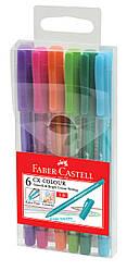 Набор ручек-роллеров Faber-Castell CX Colour 1,0 мм  6 цветов в пенале, 247202