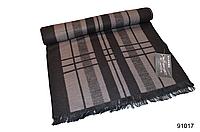 Черно-бежевый мужской кашемировый шарф, фото 1