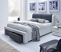 Ліжко двоспальне в спальню Польша Cassandra S 160*200 Halmar