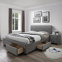 Ліжко двоспальне в спальню Польша Modena 160*200 Halmar