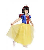 Красивое карнавальное  платье Белоснежки, фото 1