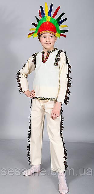 Детские Карнавальные костюмы для детей Вождь индейцев