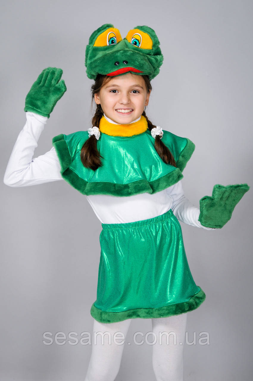 Детские карнавальные костюмы для детей Лягушка