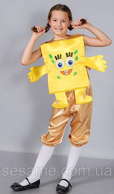 Детские Карнавальные костюмы для детей Спанч боб
