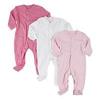 Человечек для девочки (набор 3 шт)  6-9  месяцев