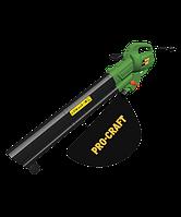 Садовый пылесос Procraft PGU 3100 При оплате на карту-для Вас ОПТОВАЯ ЦЕНА
