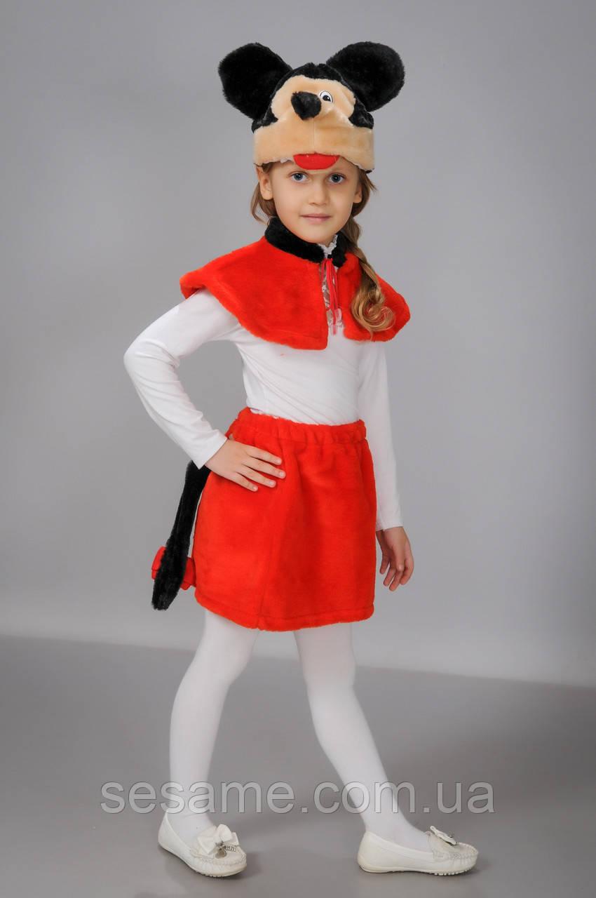 Карнавальні костюми Міккі Маус (дівчинка)
