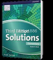 Учебник / Student's Book Solutions Elementary, третье издание, Paul A Davies, Tim Falla   Oxford