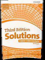 Рабочая тетрадь / Workbook Solutions Upper-Intermediate, третье издание, Tim Falla   Oxford