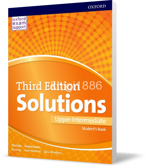 Solutions upper-intermediate second edition: student\'s book.