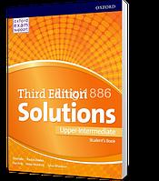 Учебник / Student's Book Solutions Upper-Intermediate, третье издание, Tim Falla   Oxford