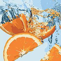 """Картина по номерам """"Сочный апельсин"""" 40*40см, фото 1"""