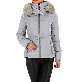 Куртка женская на синтепоне с капюшоном Emmash (Европа), Серый