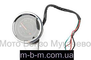 Индикатор уровня топлива выносной универсальный   аналоговый, хром