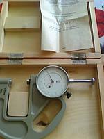 Толщиномер ТР 25-60Б ГОСТ 11358-74 (0-25мм) ц.д. 0,1 мм (з-д Крин) Возможна калибровка в УкрЦСМ, фото 1