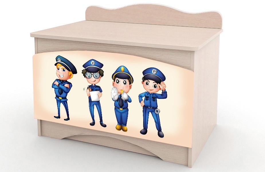 """Ящик для игрушек """"Полиция"""" Вальтер"""
