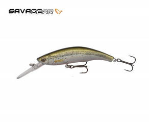 Воблер Savage Gear 3D Minnow Diver 7.5cm 9g F 04-Ghost Silver