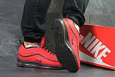 Кроссовки мужские Nike air max 97,зимние,красные, фото 3