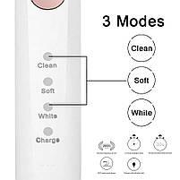 Sarmocare M100 Sonic Electric Toothbrush White Звуковая электрическая зубная щетка, фото 4