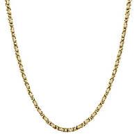 Мужская цепочка бижутерия из нержавеющей ювелирной стали Steel Rage Gold 187115