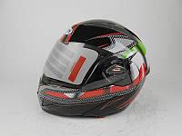 Шлем для мотоцыкла (мотошлем) HF-118 трансформер Италия
