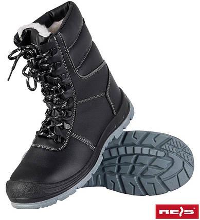 Ботинки утепленные с металлическим подноском BRNORDREIS (спецобувь), фото 2