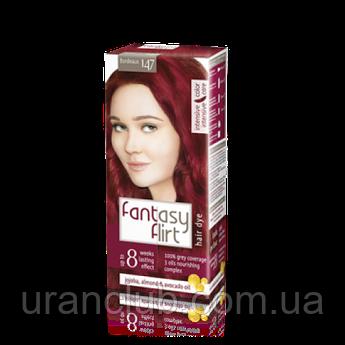 Крем-краска для волос Fantasy FLIRT (Cрок годности истёк) БОРДО (147)Срок годности истек