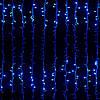 """Гирлянда """"Водопад"""" прозрачный провод 2м х 2м 240 LED (синий)"""