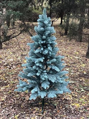 Искусственная Ель литая голубая 2.1м, фото 2