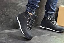 Мужские зимние ботинки Timberland,Тимберленд,на меху,темно синие, фото 2