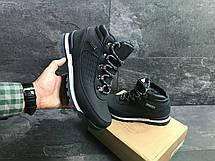 Мужские зимние ботинки Timberland,Тимберленд,на меху,темно синие, фото 3