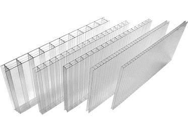 Сотовый поликарбонат  Soton  прозрачный  4 мм (1) (1)