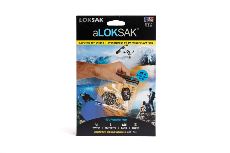 "Пакет водонепроницаемый Loksak aLOKSAK 5x4"""