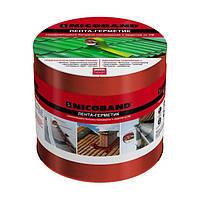 Кровельно-уплотнительная лента ТехноНиколь Nicoband 100 мм 3 м красный