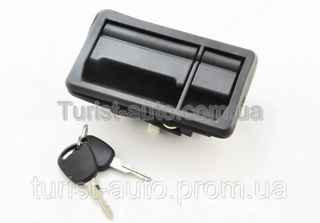 Ручка багажника с замком /металл/ Isubo