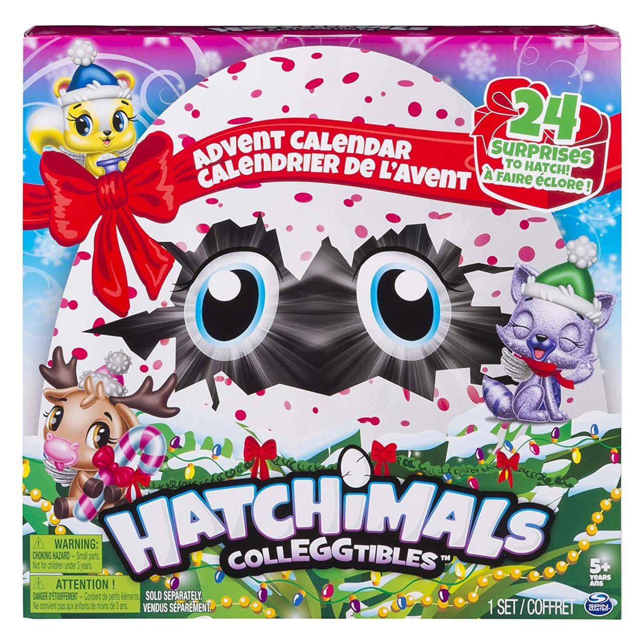 Набор Адвент календарь 24+ сюрприза Хетчималс Hatchimals Colleggtibles - Advent Calendar из США