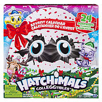 Набор Адвент календарь 24+ сюрприза Хетчималс Hatchimals Colleggtibles - Advent Calendar из США, фото 1
