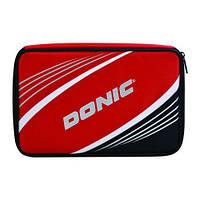 Чехлы Donic Salo Plus (Red) (for 1-2 bats, extra pocket, addition 3balls pocket)