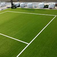 Монтаж штучної  просипної монофіламентної трави 40-50 мм (футбол)