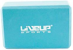 Блок для йоги LiveUp EVA BRICK, LS3233A-b