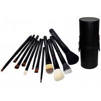 Кисти для макияжа MAC Cosmetics - набор из 12 штук в тубусе ОРИГИНАЛ