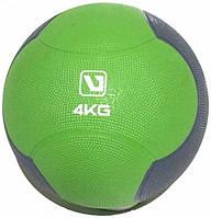 Медбол твердый (медицинский мяч) LiveUp MEDICINE BALL, 4 кг